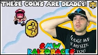 Grab A Coin, Lose Your Life!? Super Mario World Blind Kaizo Races