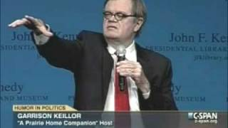 Garrison Keillor On The Role Of Humor In Politics
