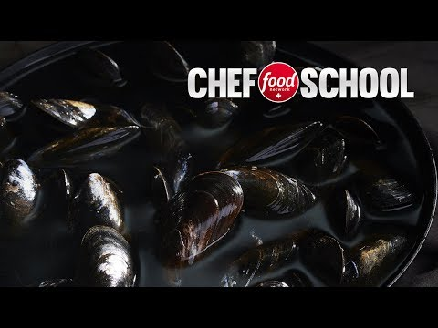 How to Buy, Clean and Cook Mussels | Chef School