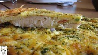 Пошаговый рецепт рыбы.Рыба, запеченная в яйце с майонезом
