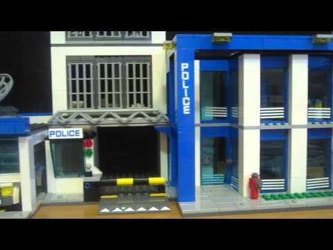 Обзор lego полицейский участок 60047