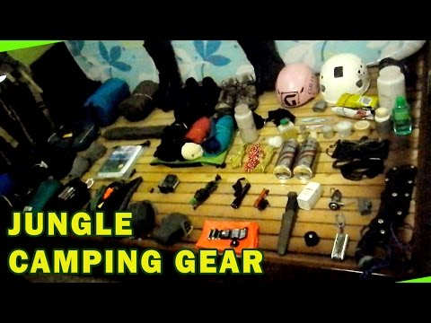 My Camping Equipment For Jungle Trekking