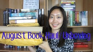 August Book Haul + Unboxing 2014! Thumbnail