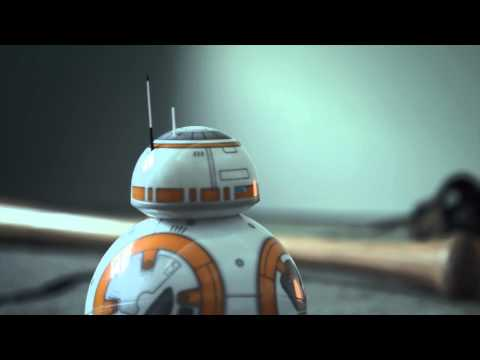 Star Wars: The Force Awakens BB-8 Droid Toy Commercial