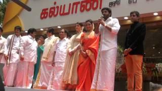 Amitabh Bachan & Aishwarya Rai, Nagarjuna, Prabhu at T Nagar Kalyan Jewellery Launchmpg