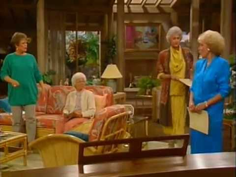 The Golden Girls - Girls singing (miami)