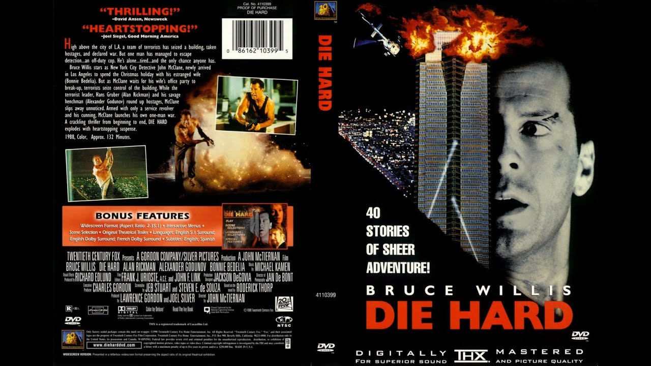 die hard 1988 movie review youtube