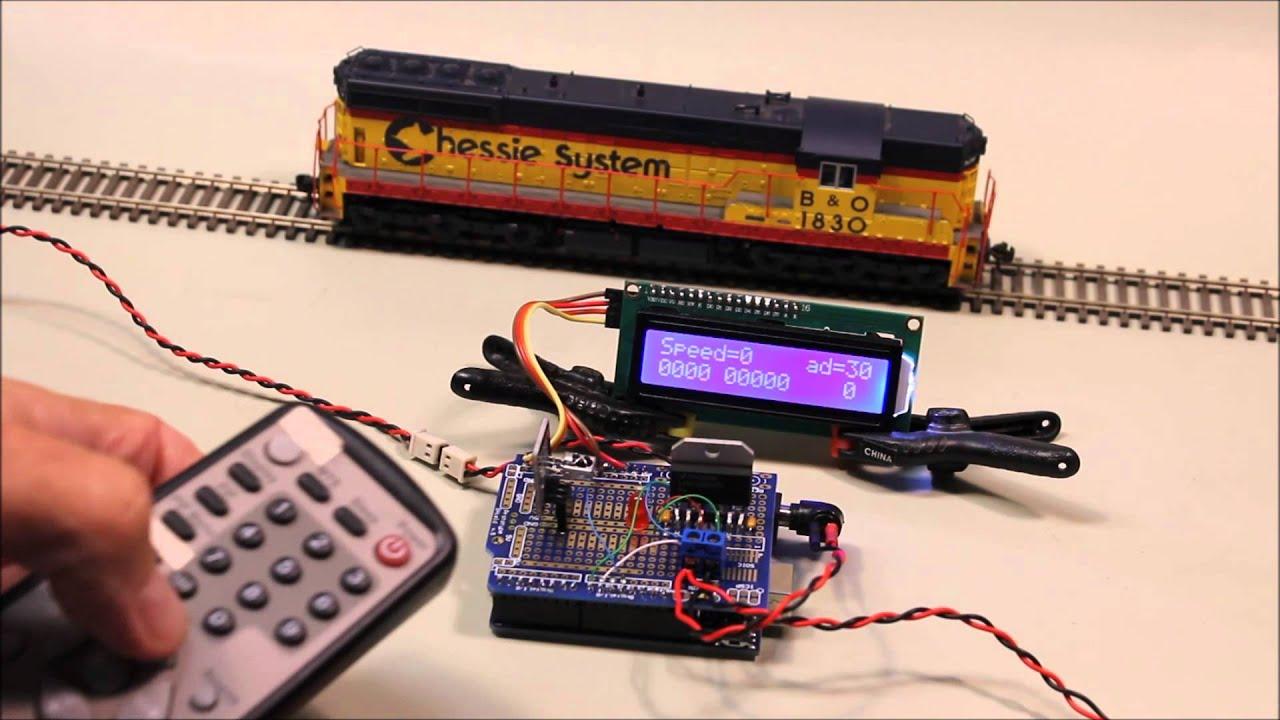 Arduino dcc controller doovi