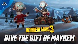 Borderlands 3 - Give the Gift of Mayhem | PS4