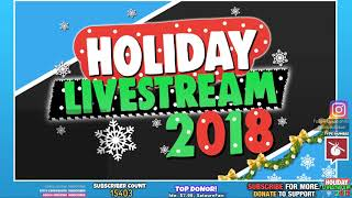 🔴 House Party w/ Lukas | Holiday Livestream 🎅🏻 - 12th December 2018 Live Stream