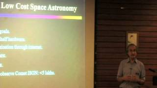 A Paradigm Shift in Space-based Astronomy: Jayant Murthy at TEDxBNMIT