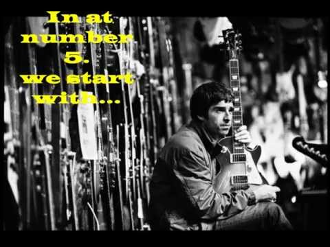 TOP 5 Oasis songs by Noel Gallagher