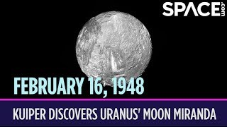 OTD in Space – February 16: Gerard Kuiper Discovers Uranus