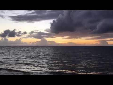 Morning sunrise St Lucia