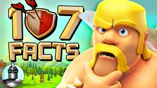 107 CLASH of CLANS Facts that YOU Should Know! | The Leaderboard (Headshot #23)