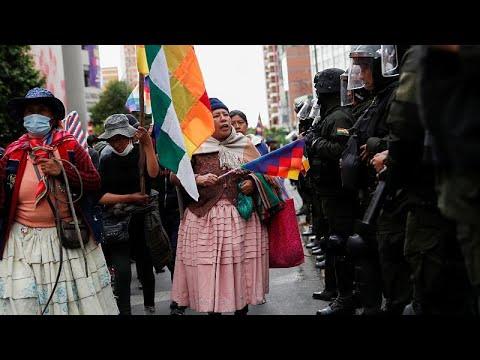 مساع لتهدئة الأوضاع في بوليفيا والرئيسة ترفض إمكانية ترشح موراليس للانتخابات…  - نشر قبل 5 ساعة