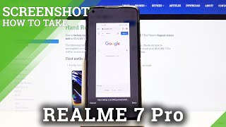 Come fare screenshot in REALME 7 Pro - Cattura contenuti fugaci