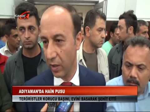 Kanal G - Adıyaman'da Korucu Başına Hain Saldırı