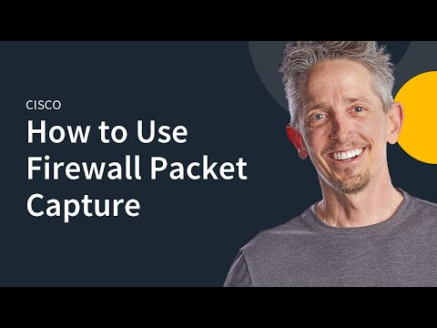 MicroNugget: How to Use ASA Firewall Packet Capture - YouTube