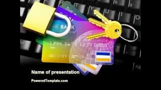 Online Payment Security PowerPoint Template by PoweredTemplate.com