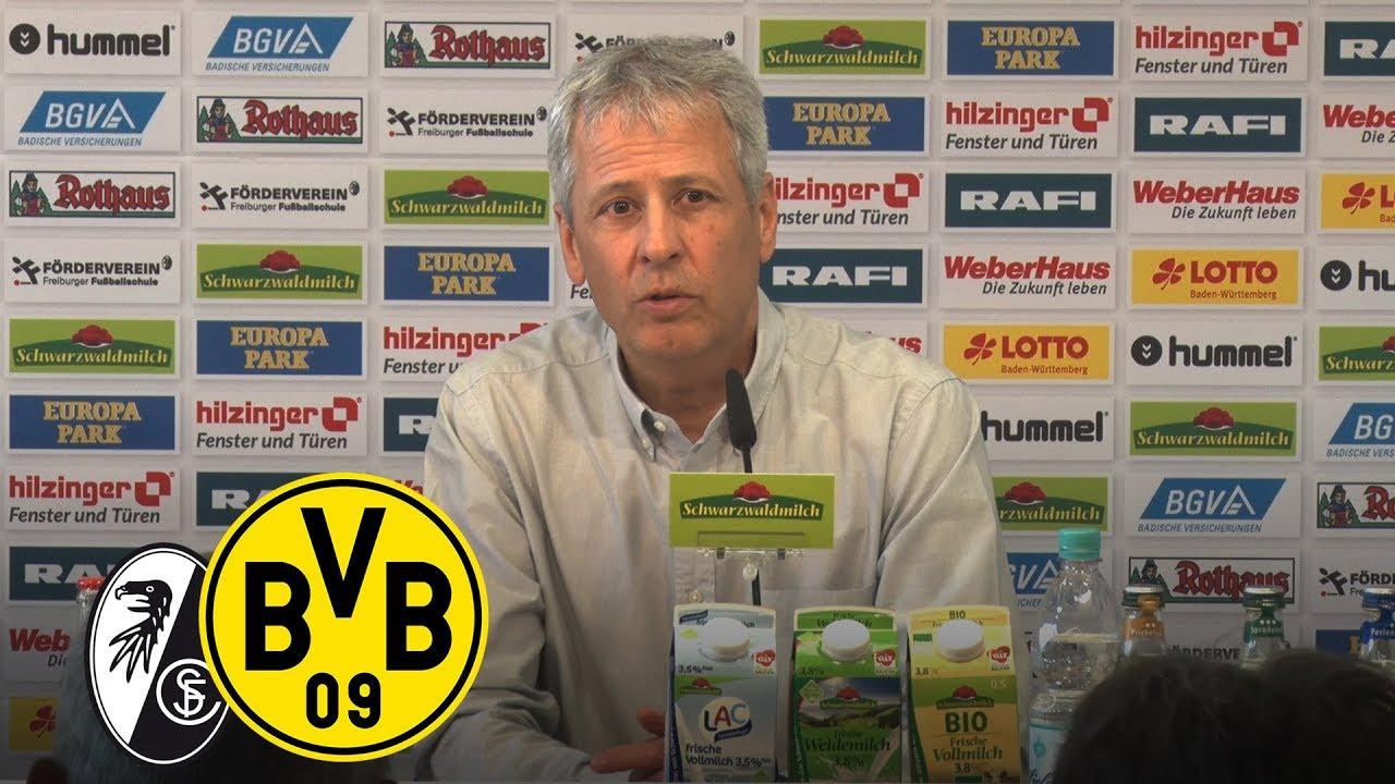 Vier Tore in Freiburg | PK mit Lucien Favre | SC Freiburg - BVB 0:4