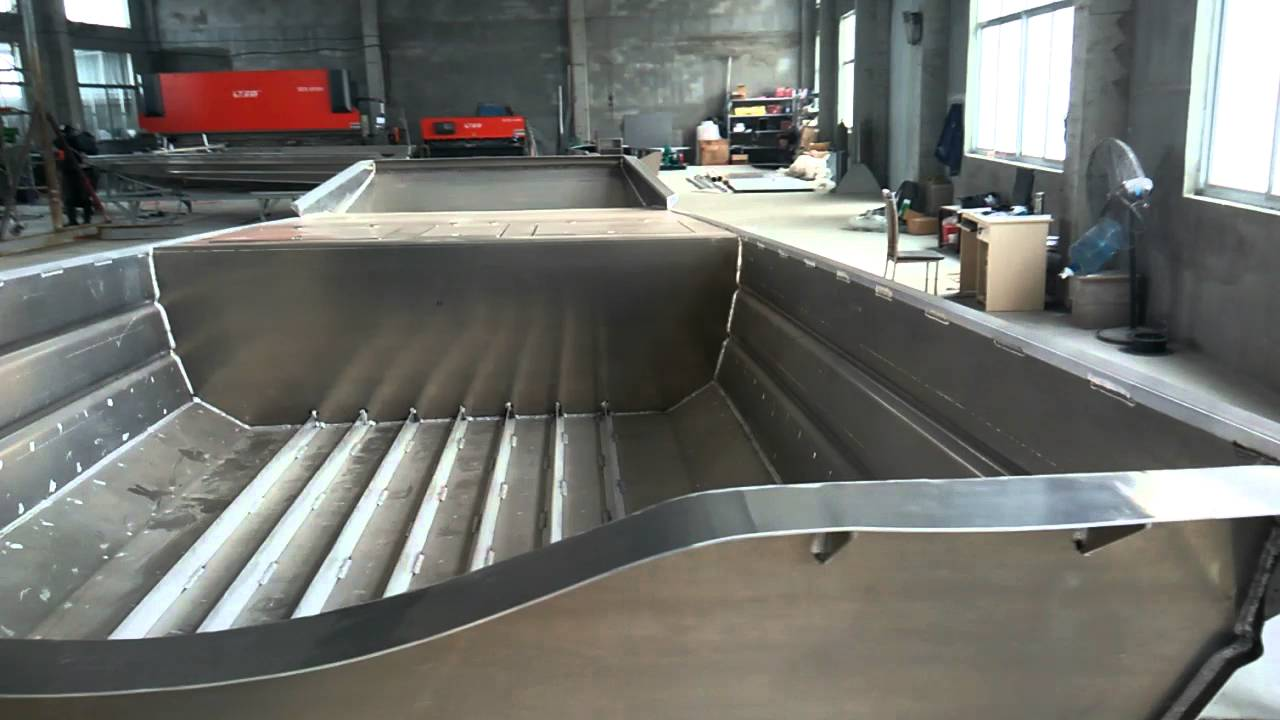 Aluminum Airboat Hulls Manufacturer Youtube