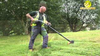 Pellenc UK - Excelion battery powered grass strimmer - South Hams District Council