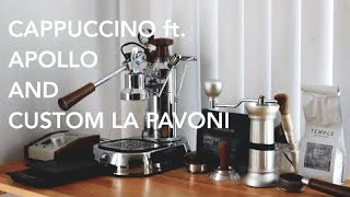 Morning Cappuccino Routine with Manual Espresso Machine
