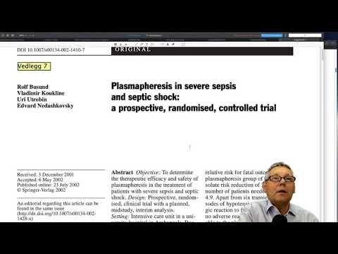 Применение плазмафереза при септическом шоке и полиорганной недостаточности: личное мнение