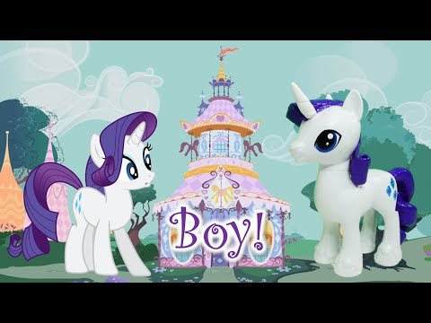 Pony Custom Tutorial - Transform Rarity to a BOY!