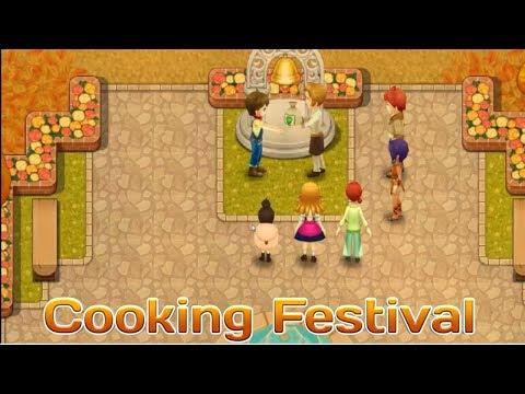Cooking Festival !!! Harvest Moon : Light Of Hope