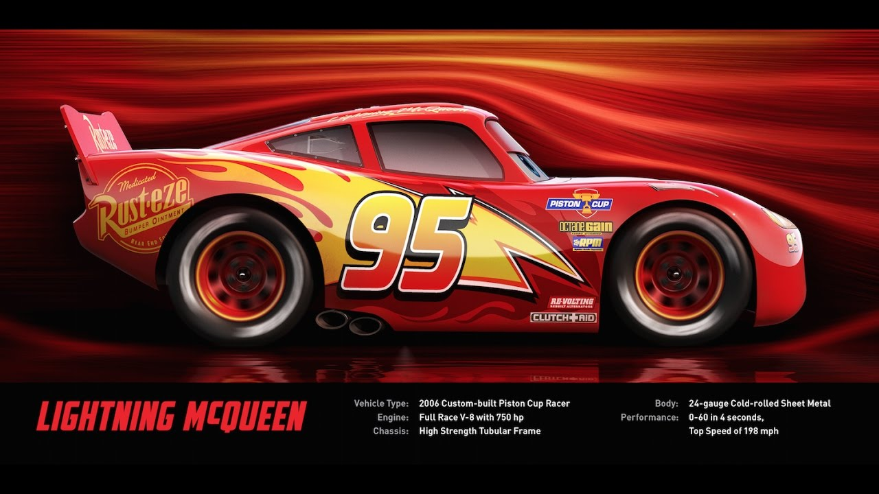 lightning mcqueen disney pixar 39 s cars 3 youtube. Black Bedroom Furniture Sets. Home Design Ideas