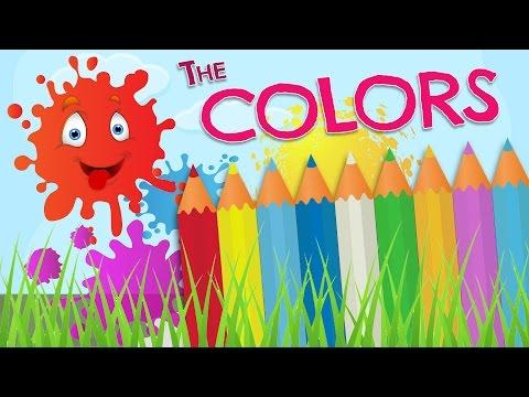 Los Colores En Inglés Para Niños Vocabulario En Español E Inglés