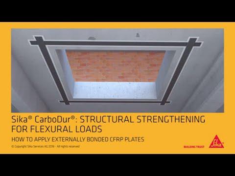 Sika CarboDur Externally bonded CFRP plates EN