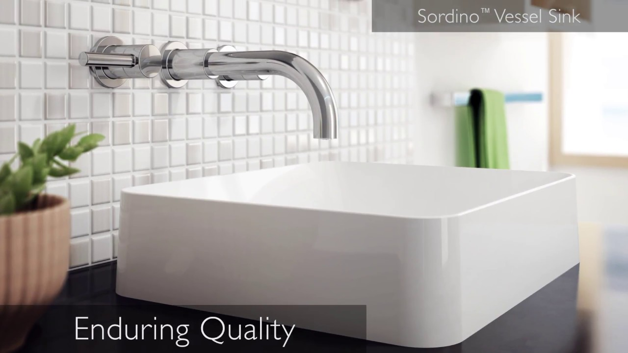 Jacuzzi® Solid Surface Sinks - YouTube