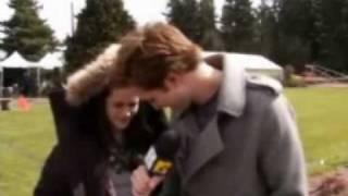 Robert pattinson and Kristen Stewart funny interview