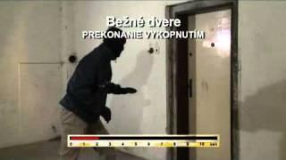 1. Prekonávanie obyčajných dverí