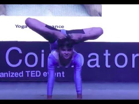 Yoga Performance | Ms Vaishnavi | TEDxCoimbatore