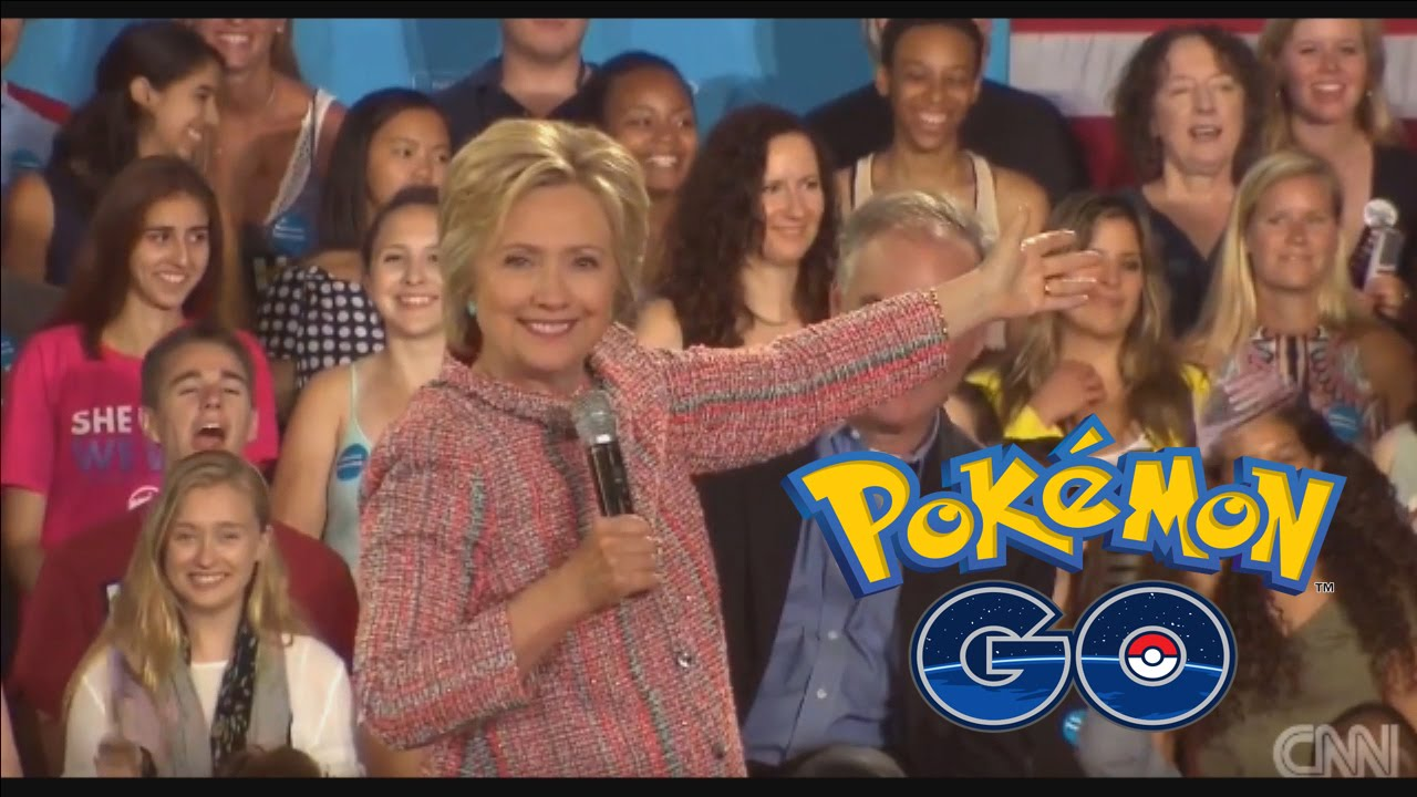 maxresdefault hillary clinton's pokemon go joke cringe commentary youtube,Pokemon Go To The Polls Meme