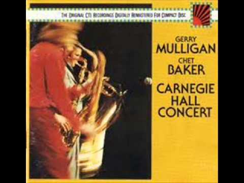 Chet Baker Carnegie Hall Concert with Gerry Mulligan A