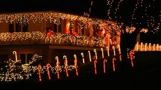 Christmas Lake Village Festival of Lights in Santa Claus, Indiana