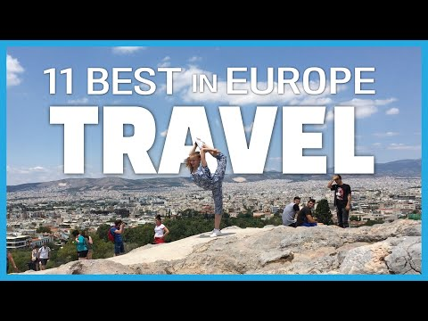 BEST Places to Travel in Europe in 220 Seconds  | 유럽여행 뽐뿌 오는 영상