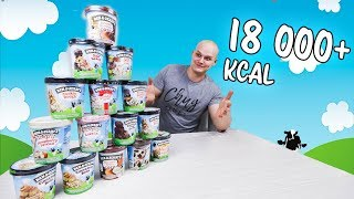 15 Ben and Jerry´s (18 000+ kcal) Haaste