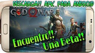Descarga Apk God of War 4 para Android Movil (Beta)