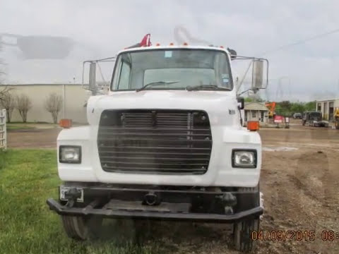 2000 Gallon Water Truck for Sale - YouTube