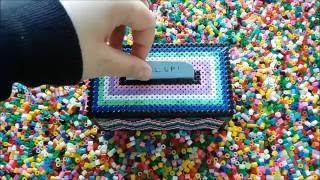 DIY Present Money Box with Hama Pearls | Gör Det Själv: Presentlåda av pärlor
