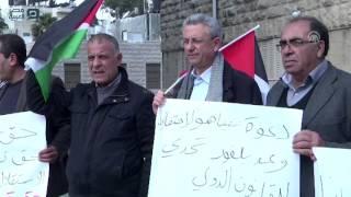 بالفيديو| فلسطينيون ينددون بدعوة بريطانيا لنتنياهو للاحتفال بمئوية