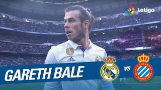 El retorno de Gareth Bale en el Real Madrid vs RCD Espanyol (2-0)