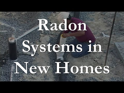 Radon Systems in New Homes