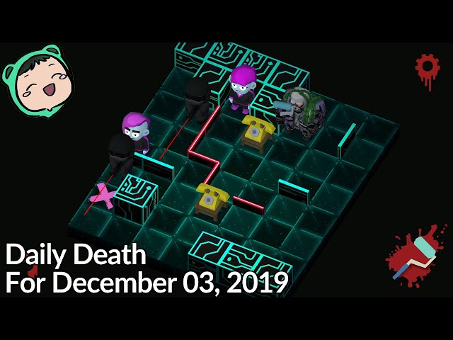 Friday The 13th: Killer Puzzle - Daily Death for December 3, 2019